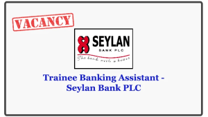 Trainee Banking Assistant - Seylan Bank PLC