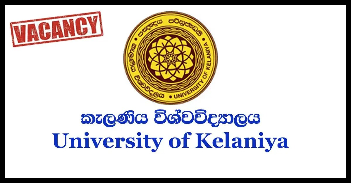 Lecturer, Senior Lecturer - University of Kelaniya