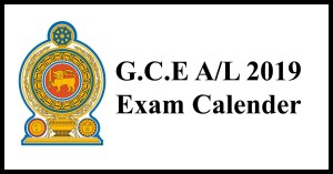 A/L 2019 Exam Time Table