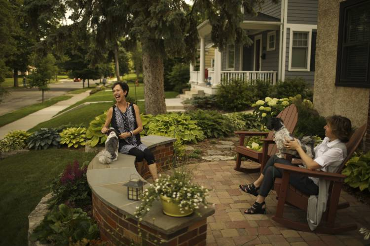 front yard patios making neighborhoods more neighborly