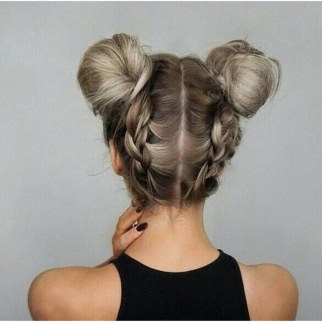 updo hairstyles to try this summer - 14 different hair buns