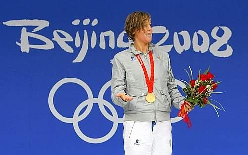 Federica ha al collo la medaglia più pregiata (Reuters)