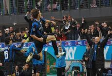 Tutta la gioia di Ibrahimovic. Richiardi