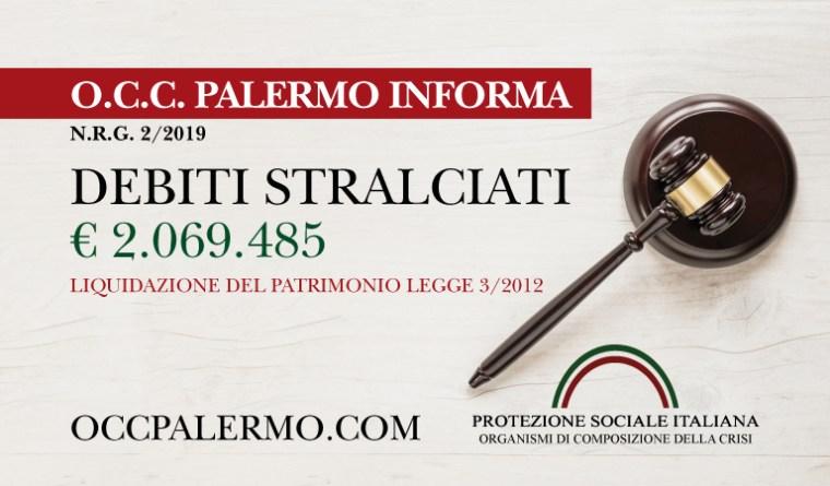 TRIBUNALE DI PALERMO - Sentenza legge 32012