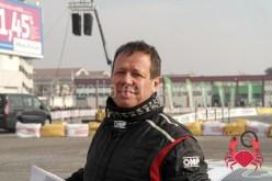 Francesco Conti - Team Resonor saluta il folto pubblico