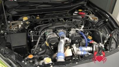 Il 4 cilindri boxer con kit Greddy. The Greddy turbocharged Toyota 4 Cyl boxer
