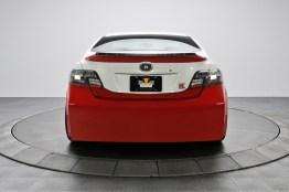 Il posteriore è forse il lato meno affascinate di questo prototipo. The back is probably the least appealing side of the car.