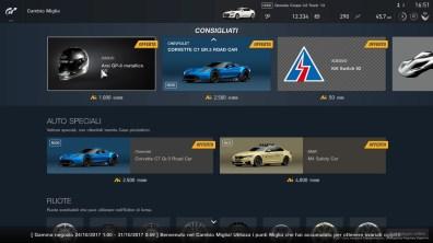 Gran Turismo™ SPORT - I punti miglia ci consentono di acquistare auto e pezzi speciali