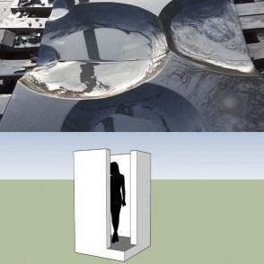scultura Chris Peterson per Fontanarosa