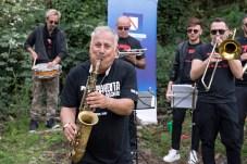 Marco Zurzolo Banda MVM Bandita Bagnoli Vesuvio, Sentiero n. 9 Il Fiume Di Lava Pomigliano Jazz Festival XXV Edizione Ercolano