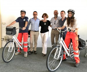 Soccorso in bici Prato
