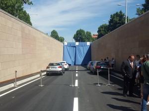 Inaugurazione del sottopasso Strozzi - Strozzi