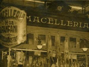 1935, la Macelleria di Guido Fanfani