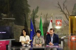 Lucia De Ranieri, Stefania Saccardi, Andrea Vannucci