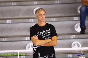 L'allenatore Roberto Tofani