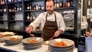 Lo chef Riccardo Serni