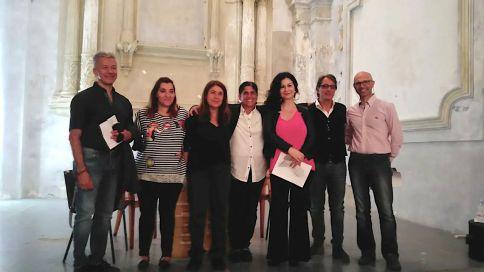 Antonio Ramous Chiara natella Francesca Taviani, Imma Battista Marcello Napoli e Antonio Fraioli