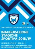 Invito Polisportiva Salerno Guiscards