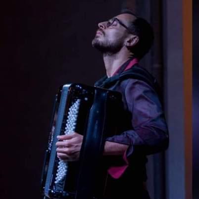 Il fisarmonicista Armando Rizzo