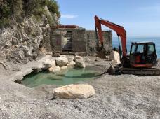 Erchie - Torre La Cerniola - lavori in corso 3
