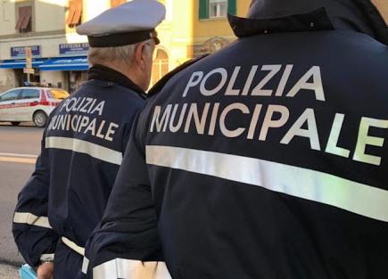 OPERAZIONE DELLA POLIZIA MUNICIPALE
