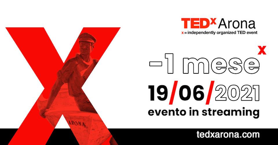 TEDxArona – I^ edizione IN STREAMING