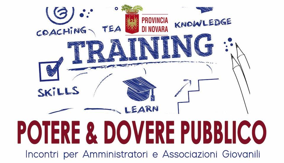 Potere & Dovere pubblico: nuovi incontri il 14 e 15 settembre
