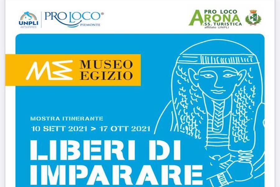 """Inizia da Arona il tour della mostra """"Liberi di imparare"""""""