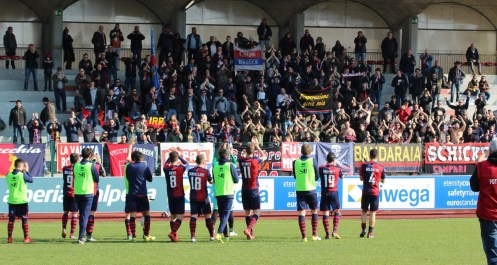 1718 sudtirol samb saluti finali squadra tifosi 2