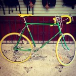 Green bike after.