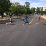 Bike rodeos are a great way to bring everybody up-to-date on current bike laws and safety