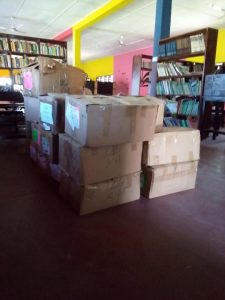 Ceciyaa Foundation donates 2,000 assorted books to Agbozume Library 3