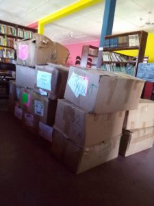 Ceciyaa Foundation donates 2,000 assorted books to Agbozume Library 2