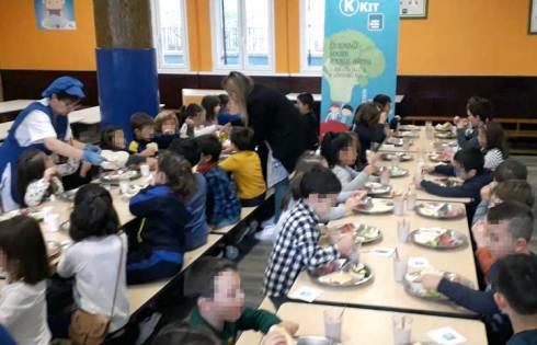 Desayuno saludable Colegio Begoñako Andra Mari Sestao
