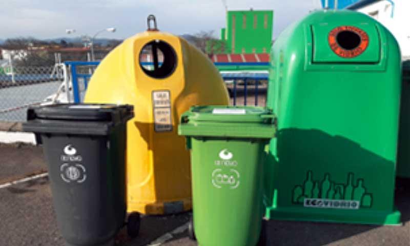 CAPSA segregacion residuos exterior