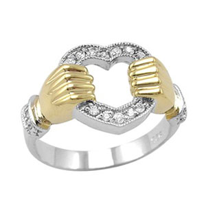 The Modern Claddagh Ring
