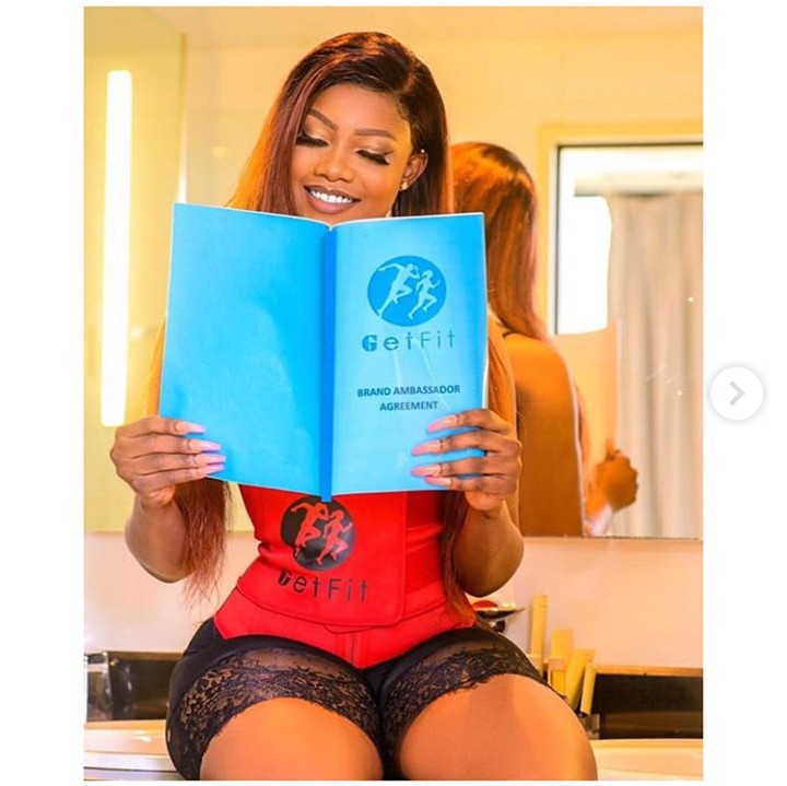 Tacha showing endorsement deal with getfit