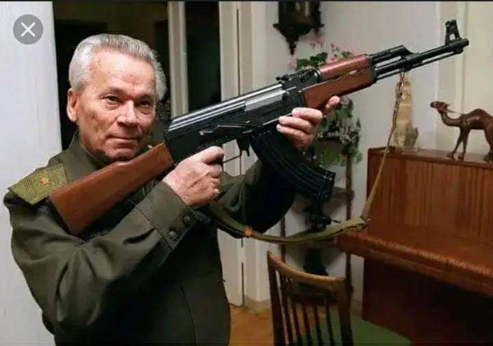 Meet The Man Who Created AK-47 Rifle; What The 47 Stands For