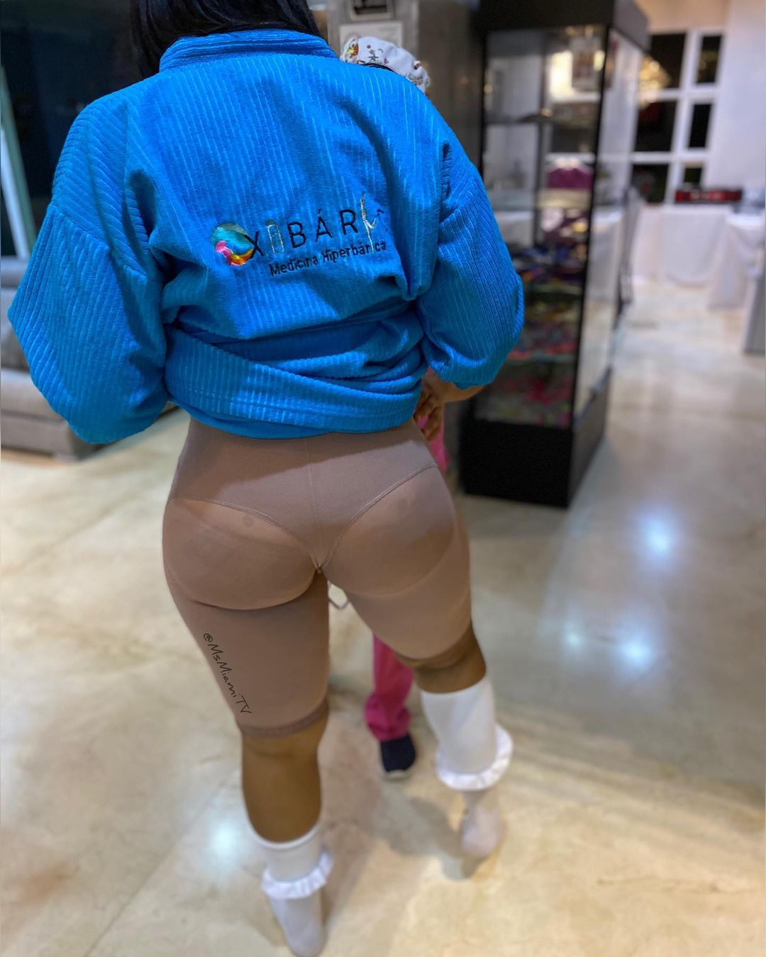 Courtney Barnes, Lady who did Butt Surgery six times shares Experience