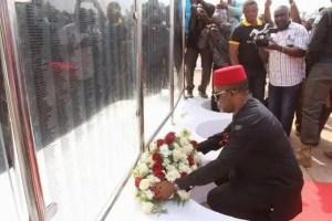 Obiano's 7th Anniversary: Ozoemezina; the Biafra War Memorial