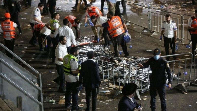 Lag B'Omer Festival: At least 45 killed after stampede