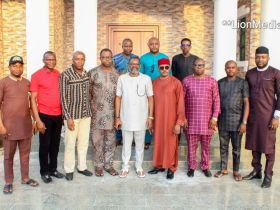Town Union Presidents General and PDP Stakeholders visits Dr. Maduka