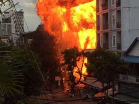 Four dead, five wounded in Cambodia gas explosion