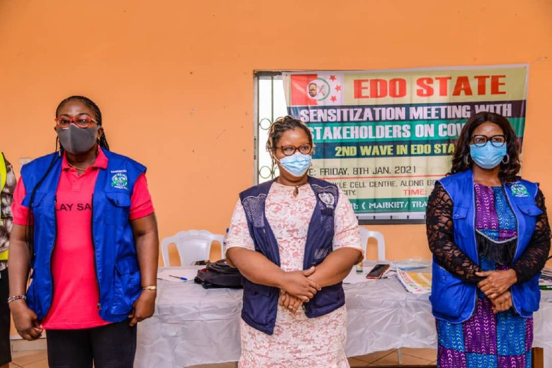 COVID-19 second wave: Edo govt, CSOs, traders parley on measures to check spread