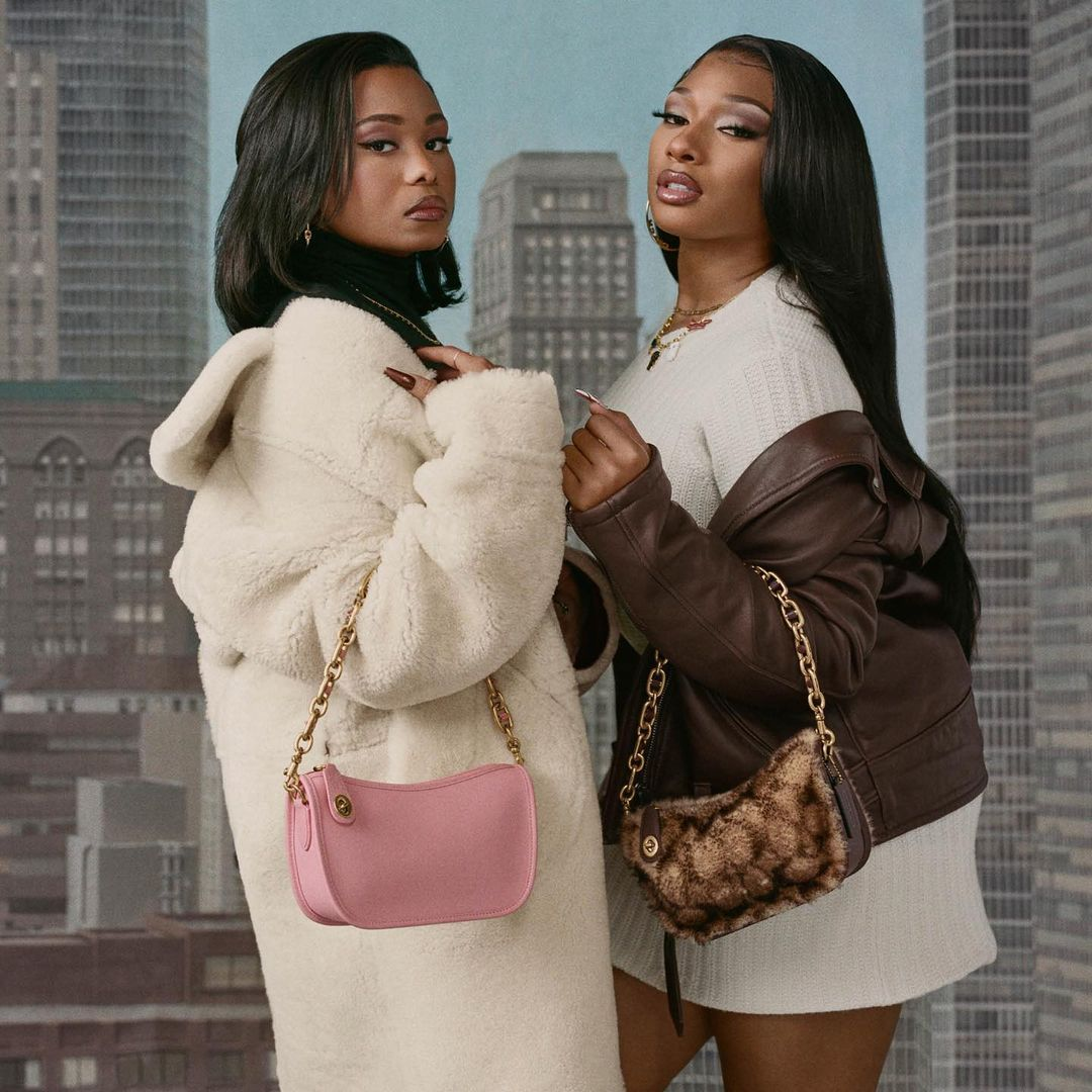 Megan Thee Stallion Stars in Her First Campaign with Boyfriend Pardi Fontaine for new Coach Collab