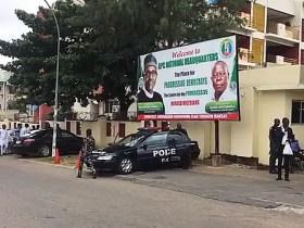 APC NATIONAL SECRETARIAT: POLICE WENT FOR MAINTENANCE