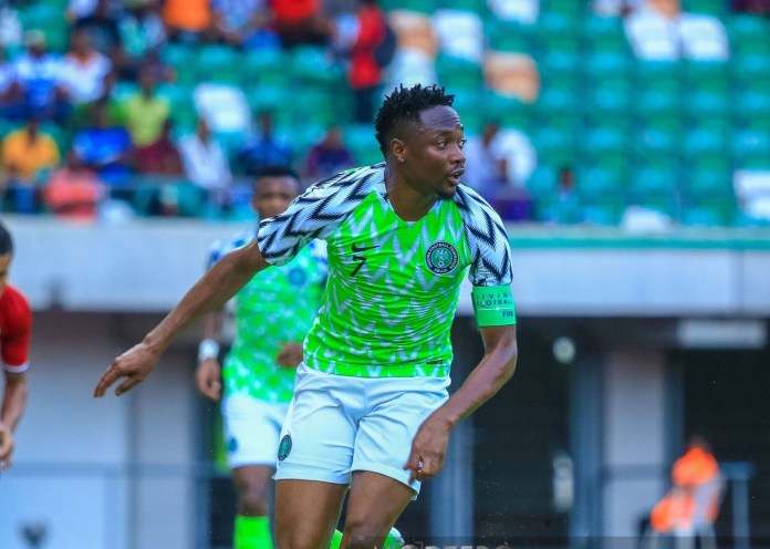 AFCON: 'We are really sorry for the disappointment' - Ahmed Musa