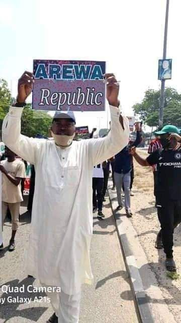 #EndNigeriaNow : AREWA PROTEST DEMAND FOR FREEDOM