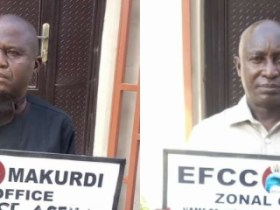 EFCC docks Adaji and Agena for alleged N5 Million Fraud