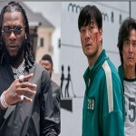 Burna Boy reacts to Squid Game